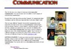 Exploring Non Verbal Communication